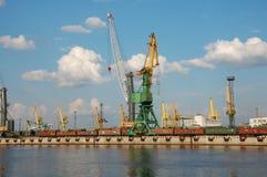 Cargo port Stock Image