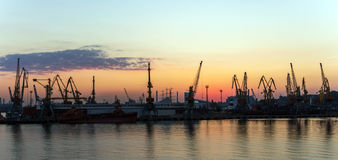 Cargo port Royalty Free Stock Image