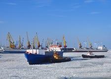 Cargo port Royalty Free Stock Image