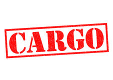 CARGO. Red Rubber Stamp over a white background Royalty Free Stock Images