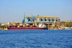 Cargo sea port Stock Photography