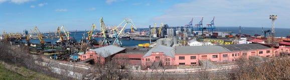 Cargo seaport in Odessa, Ukraine Stock Images