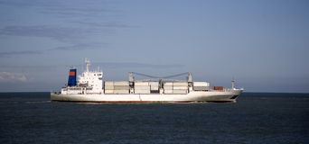 Cargo ship 1 Royalty Free Stock Photos