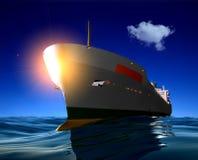 The cargo ship Stock Photography