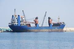 A cargo ship Stock Photos
