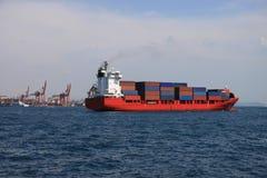 Cargo ship Royalty Free Stock Photo