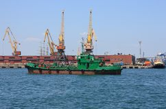 Cargo ship Stock Photography