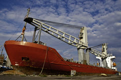 Cargo ship Royalty Free Stock Photography