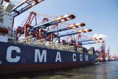 Cargo ship Stock Image