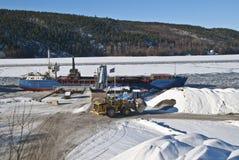 Cargo ship. Stock Photos