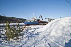 Cargo ship. Stock Image
