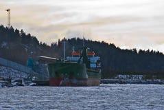 Cargo ship. Royalty Free Stock Photography