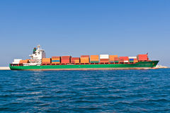 Cargo Ship Stock Image