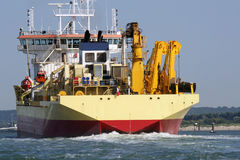 A cargo ship Stock Photography