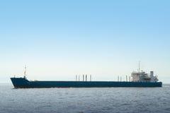 Cargo ship. Large cargo ship in the sea Stock Photography
