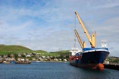 Cargo Ship. Stock Photo