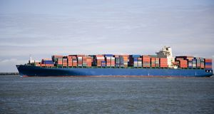Cargo ship 4 Stock Photography