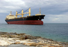 Cargo Ship Royalty Free Stock Photos