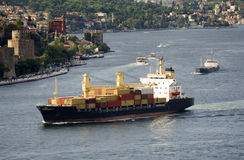 Free Cargo Ship Royalty Free Stock Images - 8297039