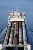 Cargo ship AVANGARD Stock Images