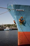 Cargo Ship Bow Stock Images