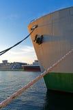 Cargo Ship Bow Royalty Free Stock Photos