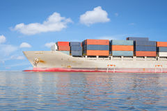 Cargo ship Royalty Free Stock Images