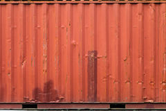 Cargo ship container texture Stock Photography