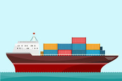 Cargo Ship Containers Shipping Stock Images