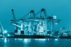Cargo ship Royalty Free Stock Photography
