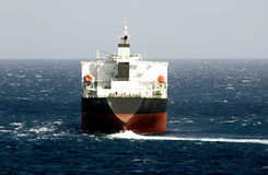 Cargo ship designed for transp Stock Image