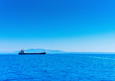 The cargo ship Royalty Free Stock Photos