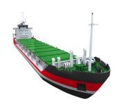 Cargo Ship Isolated Royalty Free Stock Photo