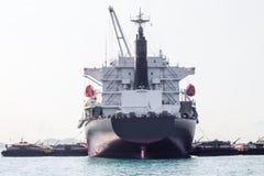 Cargo Ship. The Large Cargo Ship sailing Royalty Free Stock Photos