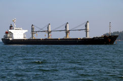 Cargo ship LAUREL ISLAND Royalty Free Stock Image