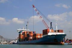 Cargo ship Leyla Kalkavan Stock Image