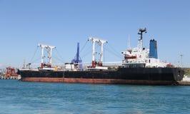 Cargo ship loading Royalty Free Stock Photography