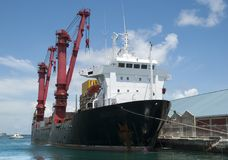 Nassau City Port Ship Royalty Free Stock Photos