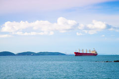 Cargo ship Royalty Free Stock Image