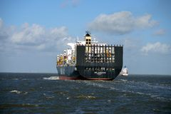 Cargo Ship MSC Margarita Royalty Free Stock Images