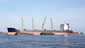 Cargo ship. Royalty Free Stock Photos