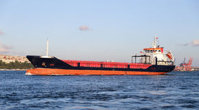 Cargo Ship in Sea Stock Images