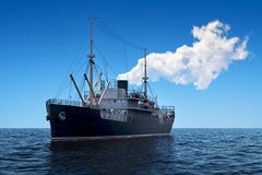 Cargo Ship In The Sea Stock Photography