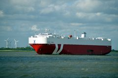 Cargo Ship Sebring Express Stock Images