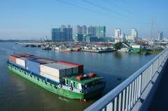 Cargo ship, shipping , logistics, service, ho chi minh city Stock Photography