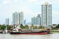 Cargo ship. Royalty Free Stock Photo