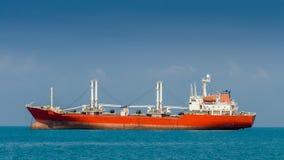 Cargo ship. In thailand, Andaman sea Royalty Free Stock Photography