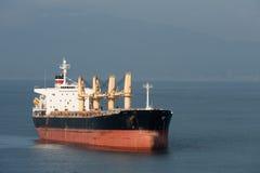 Cargo Ship in Transit Stock Photo