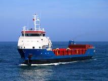Cargo Ship. Underway at sea with special cargo Stock Photos