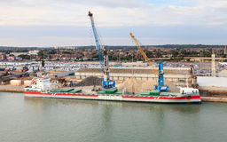 Cargo Ship Vlieborg Royalty Free Stock Image